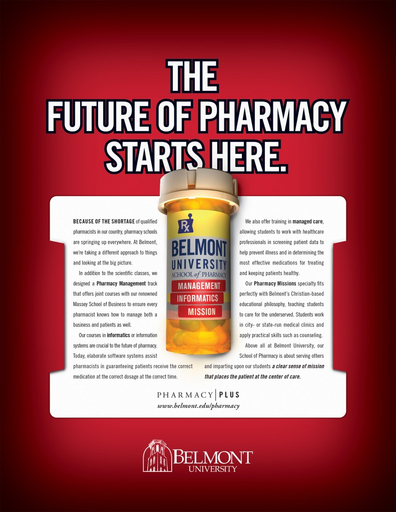 Belmont University Pharmacy Print