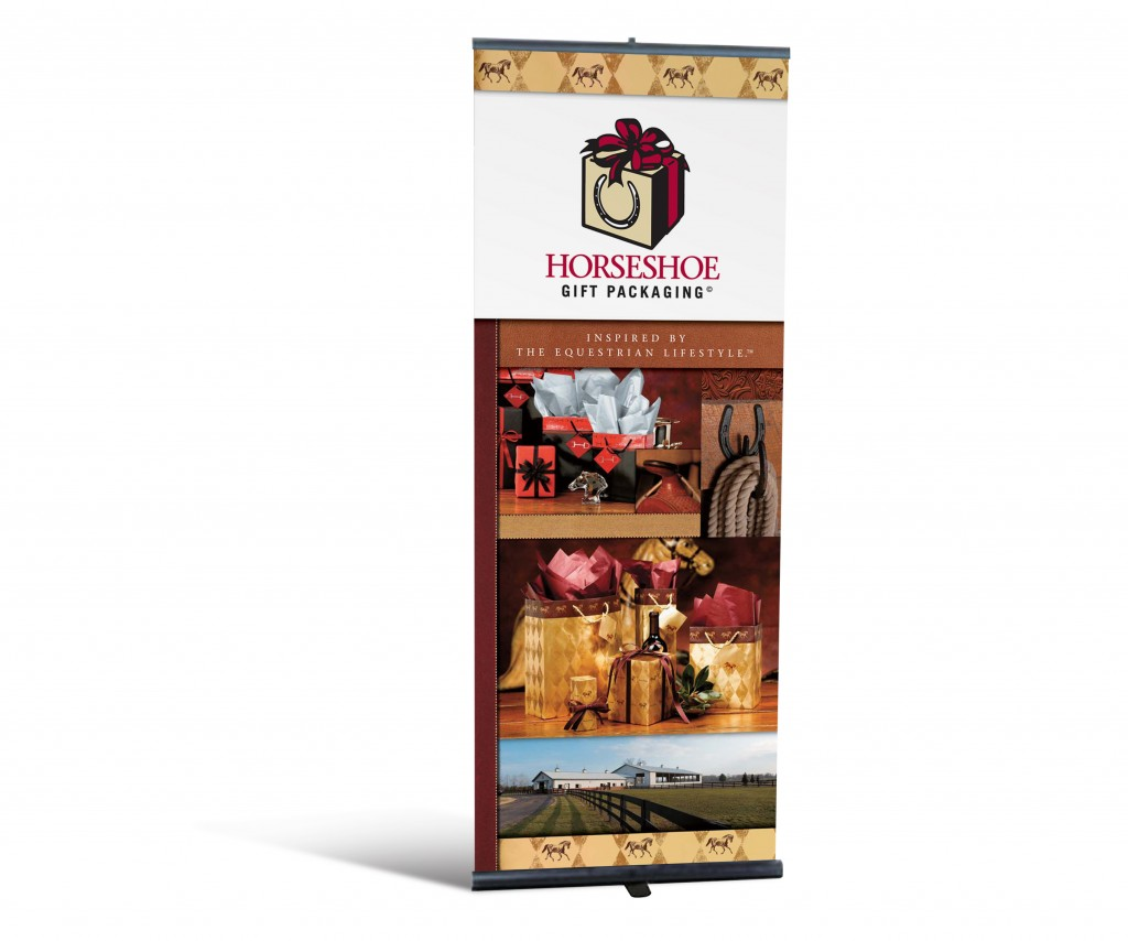 Horseshoe gift packaging Banner