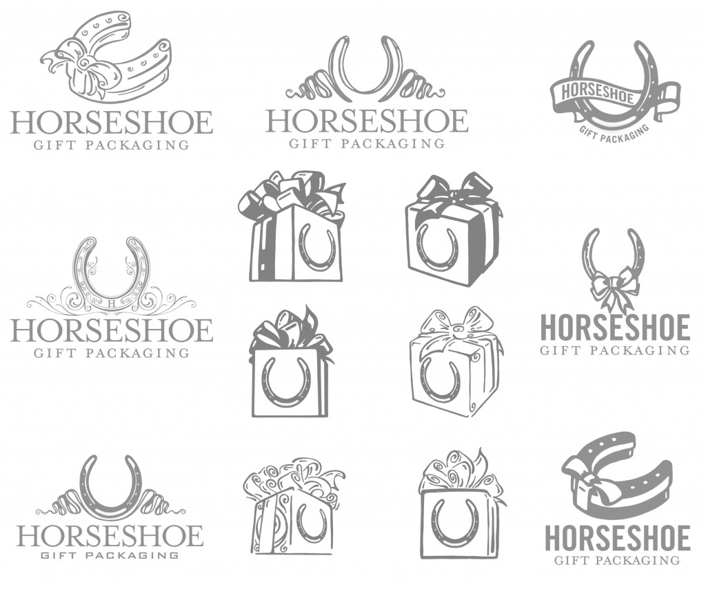 Horseshoe gift packaging development