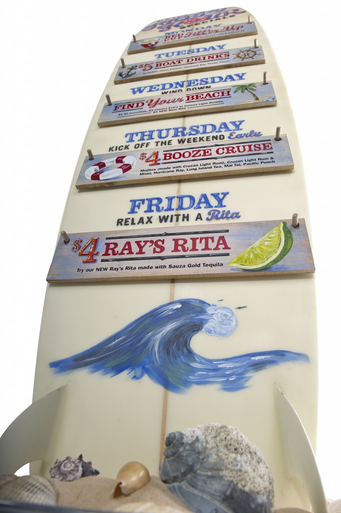 Marlin and Rays Surfboard