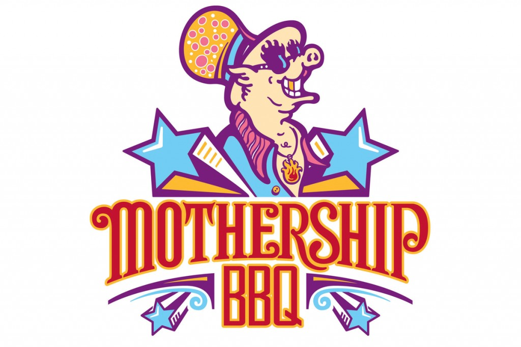Mothership bbq logo