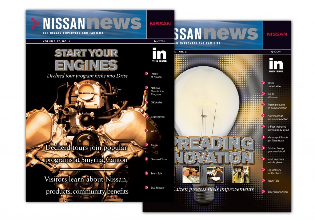 Nissan News Covers
