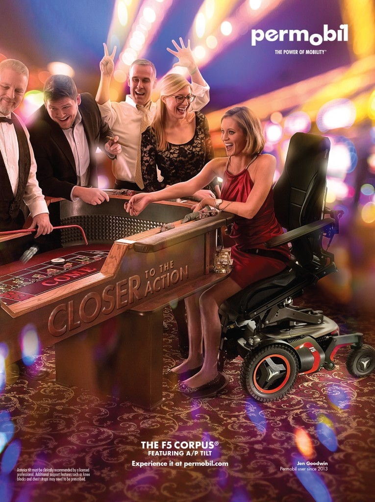 Permobil F5 Corpus Casino