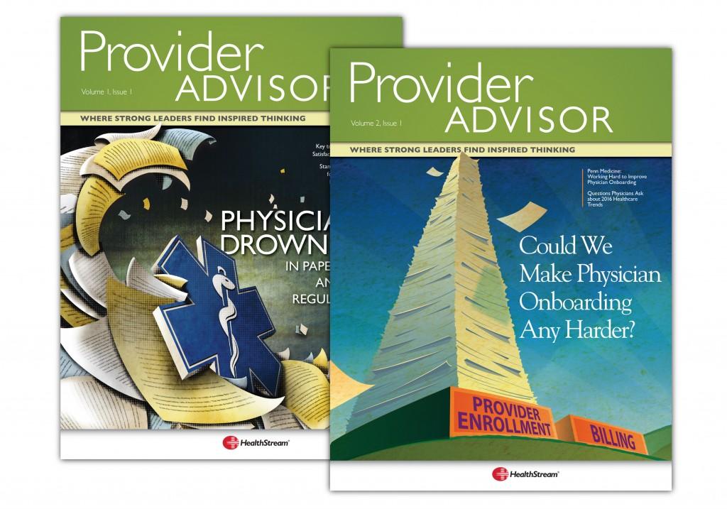 HealthStream Provider Advisor Covers