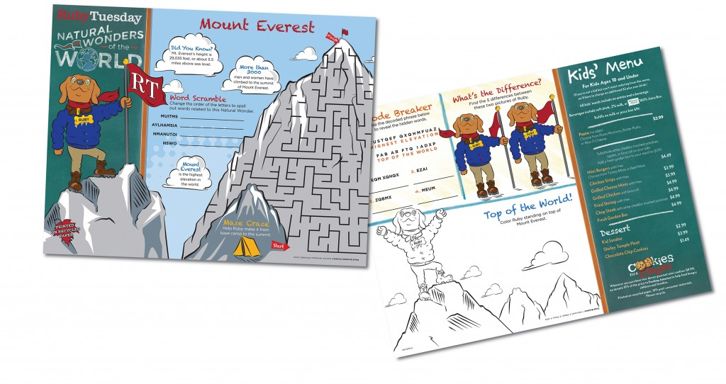 Ruby Tuesday Kids Mount Everest