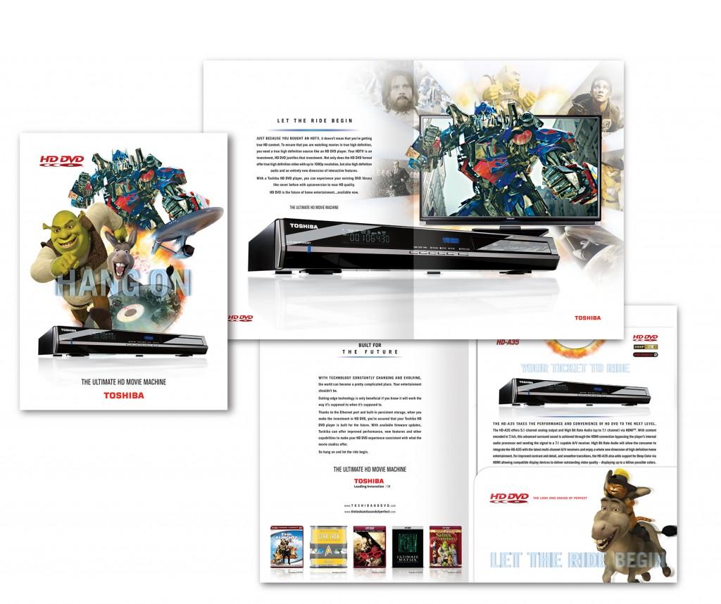 Toshiba HD DVD family brochure