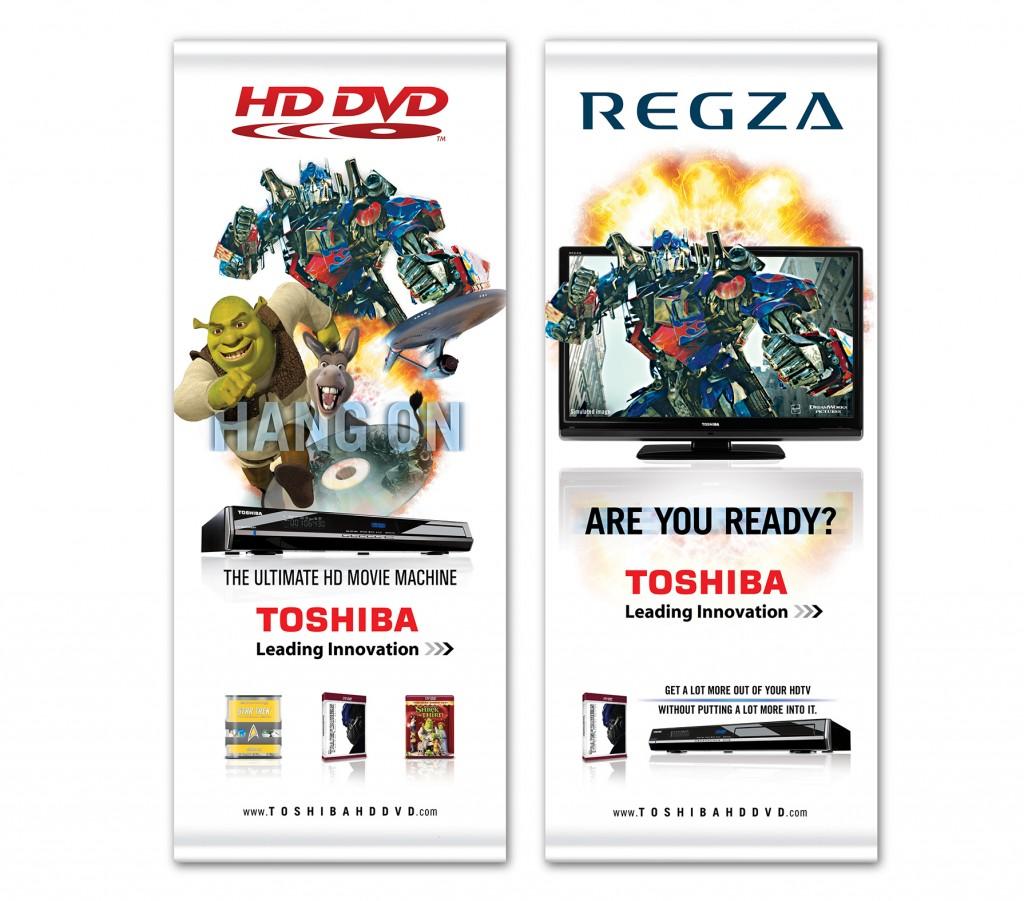Toshiba banners