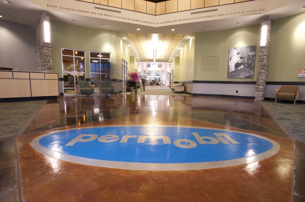 Permobil HQ Lobby