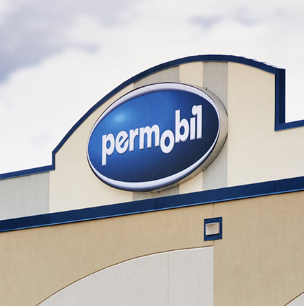 Permobil Exterior Sign